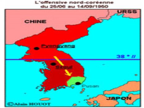 25 juin 1950 - Début de la guerre de Corée(Herodote.net) | La guerre de Corée | Scoop.it