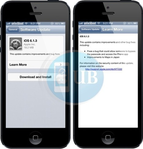 Download iOS 6.1.3 Firmware | technology | Scoop.it