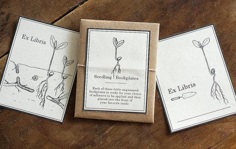 Seedling Bookplates - Printable PDF | Grown Green Gardens | Scoop.it
