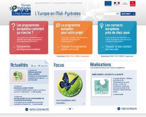 Découvrez toutes les ressources européennes de Midi-Pyrénées en trois clics ! | Ardesi - Société de l'Information | Scoop.it