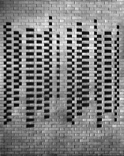 betonbabe: JOSEF ALBERS BRICK WALL DETAIL,... | The Architecture of the City | Scoop.it