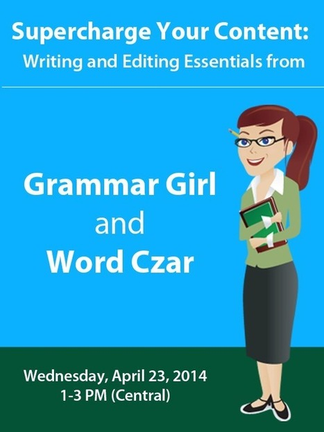 Grammar Girl online Web cast session. | Technology and Education Resources | Scoop.it