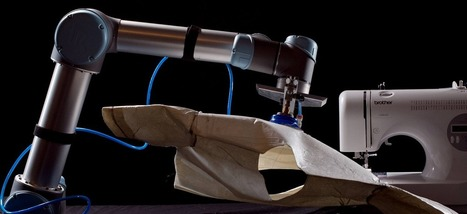 Breakthrough As Robot Used to Sew Article of Clothing | Science, Technology, and Current Futurism | Scoop.it