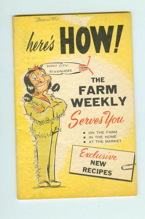 Here's How The Farm Weekly Serves You Souix City Newspapers Booklet Native American On Cover1940s-1950s | Antiques & Vintage Collectibles | Scoop.it
