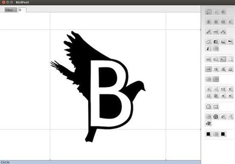 Birdfont – Créer une police de caractère | Time to Learn | Scoop.it