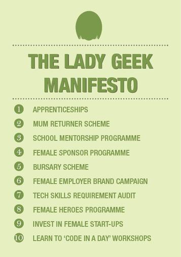 Manifesto | those cool geeky girls | Scoop.it
