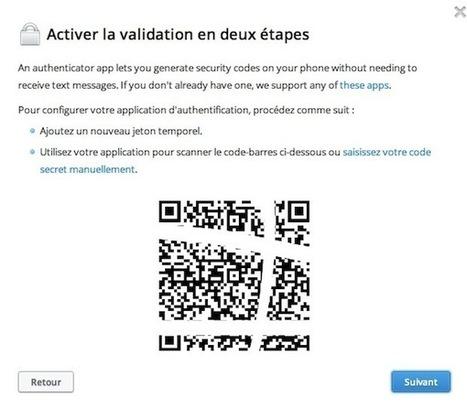 Dropbox : comment activer la validation en deux étapes | Iphone & Ipad | Scoop.it