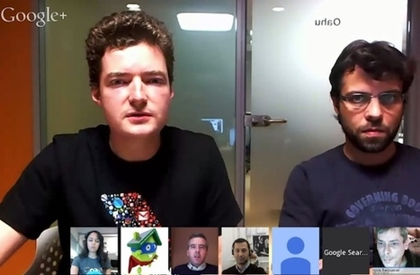 Le 1er hangout en français de l'équipe qualité Google   web   Scoop.it