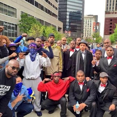 Bloods et Cripsde Baltimore appellent à la trêve et à l'unité pour lutter contre les brutalités policières | ACTUALITÉ | Scoop.it
