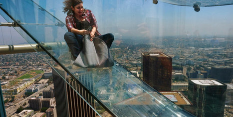 This Terrifying Glass Skyslide Is Not For The Faint Of Heart | Xposed | Scoop.it
