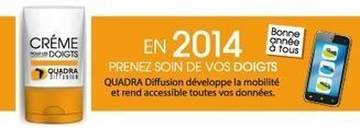 Newsletter Janvier 2014 | Quadra Diffusion | Scoop.it