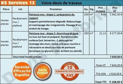 KS Services 13: Chiffrage travaux peinture des murs : Bouches du Rhône | Courtier en travaux Bouches du Rhône | Scoop.it