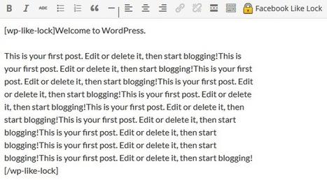 Facebook Like Lock Plugin for Wordpress | My Interests | Scoop.it