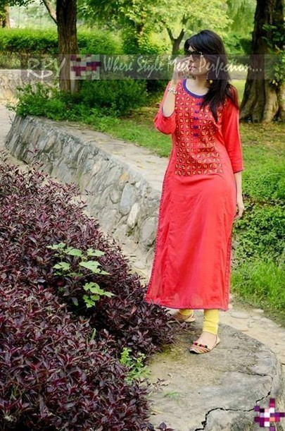 Stylish Eid Outfit's Collection 2013 By RBY For Women | stylostyle | Scoop.it