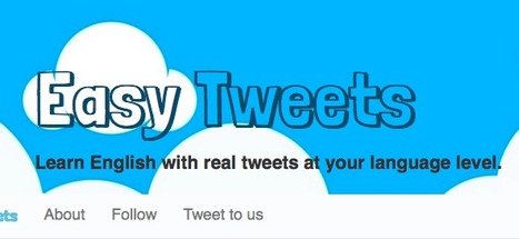 Easy Tweets | Anglo European Learning English | Scoop.it