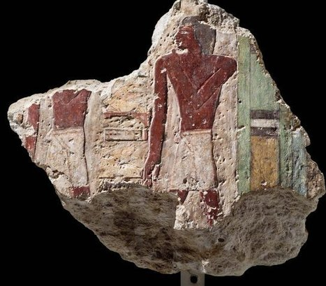 Colorful Wall Relief Fragment Hacked Out From The 3,850-Year-Old Tomb Of Djehutyhotep, Deir el-Bersha, Egypt - MessageToEagle.com | Arabian Peninsula | Scoop.it