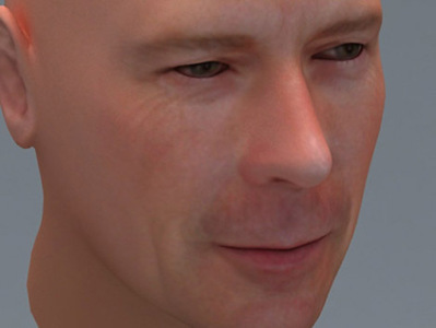 Bruce Willis visage 3D | 3D Library | Scoop.it