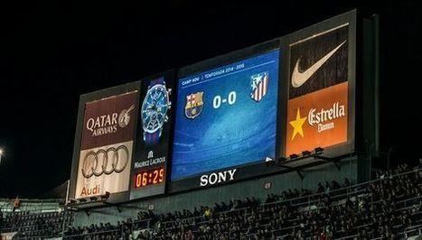 Maurice Lacroix estrena en el Camp Nou el reloj más grande del mundo en un estadio de fútbol - La Jugada Financiera | Seo, Social Media Marketing | Scoop.it