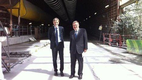 Le ministre des transports Alain Vidalies sur le chantier du Lyon-Turin à Saint-Martin-de-la-Porte en Savoie - France 3 Alpes | Veille presse Lyon-Turin ferroviaire | Scoop.it