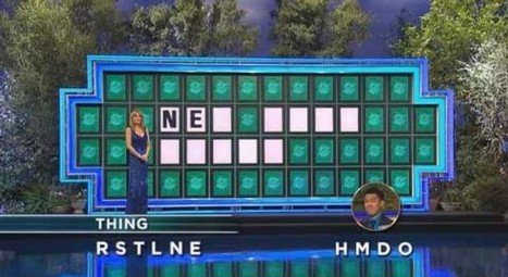 Guy Pulls Off Incredible 'Wheel Of Fortune' Guess - Digg | Second Language | Scoop.it