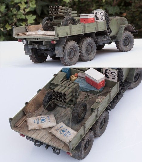 Angola 1992 - MPLA Zil-131 | Military Miniatures H.Q. | Scoop.it