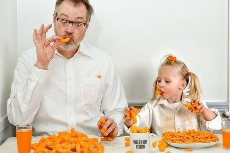 This Dad's Pictures With His 3-Year-Old Show Just How Hilarious It Is To Be A Father | Amazing Art | Scoop.it