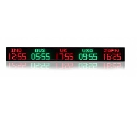 Digital Time Zone Clocks | Tickerplay Signs and Displays | Scoop.it
