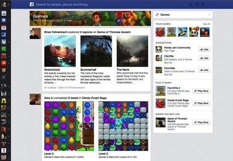 Une nouvelle version de Facebook pour laisser plus de place aux contenus et aux publicités - MediasSociaux.fr | Be Social ! | Scoop.it