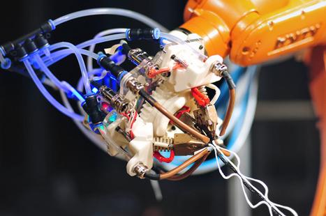 6-Axis Robot-Arm 3D Printer Runs on Arduino, Slings Spiderwebs | Digital Fabrication | Scoop.it