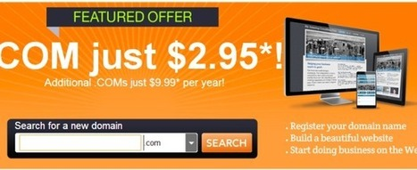 $2.95 Domain Coupon for .COM in December at GoDaddy   Coupon-codes.info   GoDaddy promo coupon codes for domain, hosting or renewal, never expires   Scoop.it