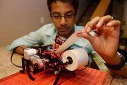 Boy, 13, builds Braille printer with Legos, starts company   Peer2Politics   Scoop.it