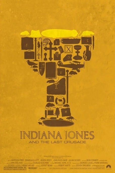 Maxime Pecourt – Indy Jones Posters | All Geeks | Scoop.it