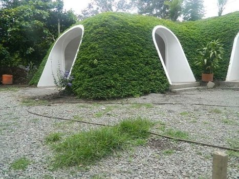 This Grass Covered Hobbit Home Could Be Assembled in Just 3 Days | Sustainable Technologies | Scoop.it