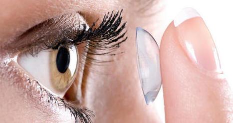 L'écran s'embarque au sein même des lentilles de contact   Hopital 2.0   Scoop.it