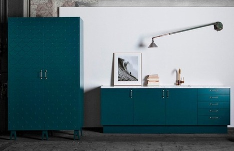 Superfront: An Instant Upgrade for Ikea Cabinets: Remodelista | puuta | Scoop.it
