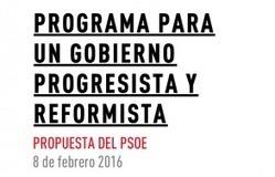 Programa para un Gobierno progresista y reformista, PSOE | Diari de Miquel Iceta | Scoop.it