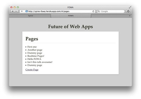 Asynchronous UIs - the future of web user interfaces | Lectures web | Scoop.it