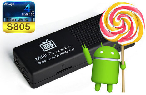 Android 5.0 Lollipop SDK for Amlogic Processors and Image for MK808B Plus | Embedded Systems News | Scoop.it