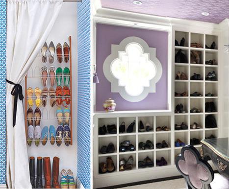 Creating A Bit of Elegance In Shoe Storage | Home & Office Organization | Scoop.it