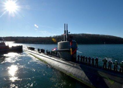 Dernier retour du sous-marin USS Dallas - Portail des sous-marins | Le bateau au fil de l'eau et de l'histoire 3°3: | Scoop.it