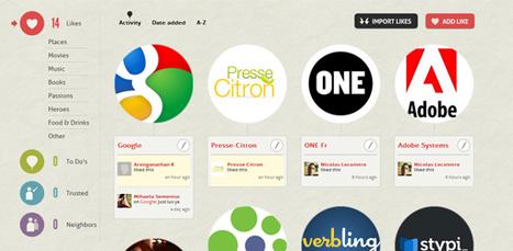 CircleMe, le réseau social qui cerne vos centres d'intérêts   SocialWebBusiness   Scoop.it