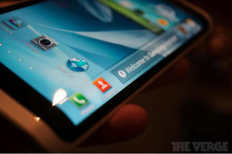 Galaxy Round, the name of Samsung's first flexible display smartphone? | Android Discussions | Scoop.it