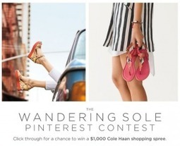 FTC cracks down on Pinterest contest rules with warning to Cole Haan | *All Things Social* | Scoop.it
