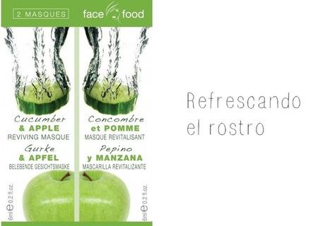 Review: Máscara Facial de Pepino y Manzana Face Food de ... | estafa jeunesse | Scoop.it