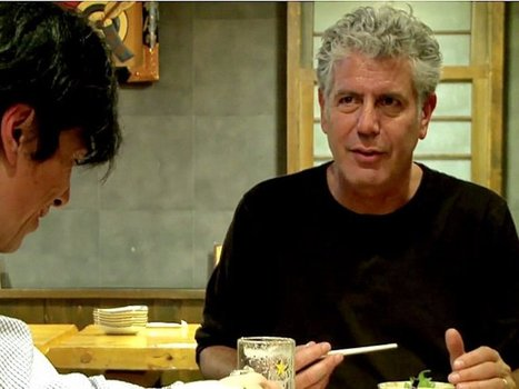Anthony Bourdain explains why, even after touring 80 countries, his favorite destination will always be Japan | Stuka78 | Scoop.it