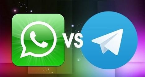 WhatsApp vs Telegram Messenger- Caratteristiche a Confronto | Sms gratis | Scoop.it