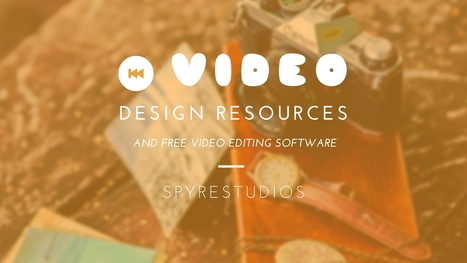 Free Video Editing Resources Every Designer Should Know | Public Relations & Social Media Insight | Scoop.it