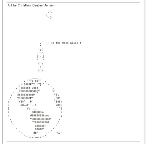 ASCII Art Spaceships - ascii-code.com | ASCII Art | Scoop.it