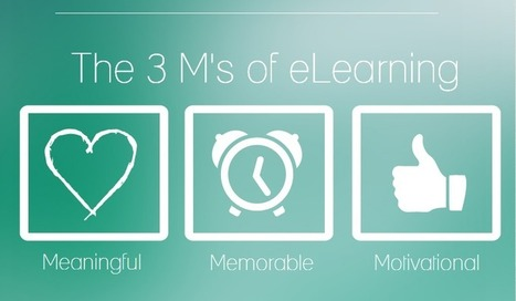 The 3 Big  M's of Successful eLearning Courses | Educación a Distancia (EaD) | Scoop.it