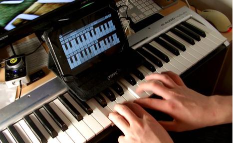 Aplicaciones para crear música con tu tablet   Música y TIC   Scoop.it